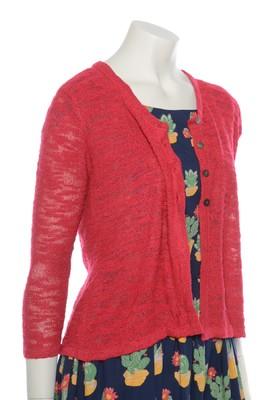 Bindi vest short slub cherry