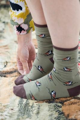 Bonnie Doon Sokken Sparrow Khaki