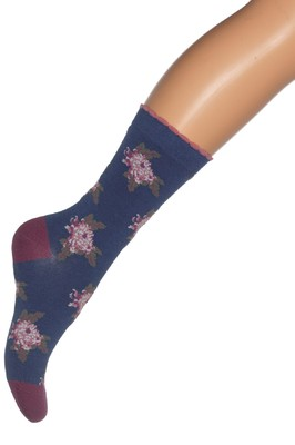 Bonnie Doon Sokken Chrysanthe Indigo