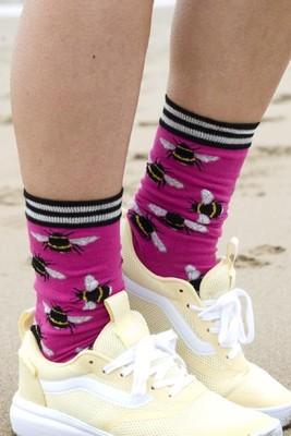 Bonnie Doon sokken bzzz roze
