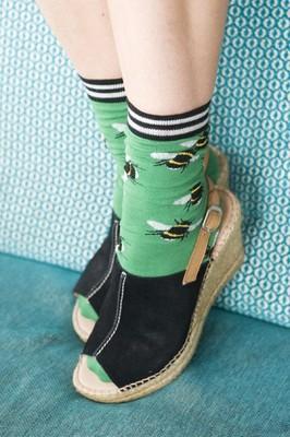 Bonnie Doon sokken bzzz blauw