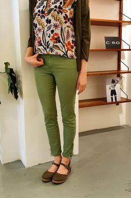 C.RO broek   groen