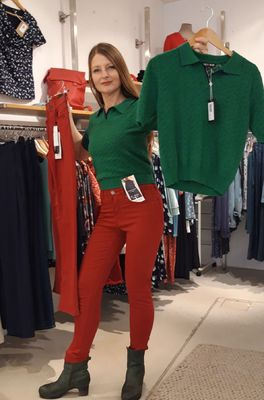 C.RO broek   rood