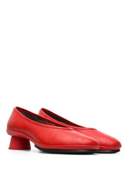 Camper schoen alright rood