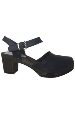 Clumpy's sandaal eva zwart