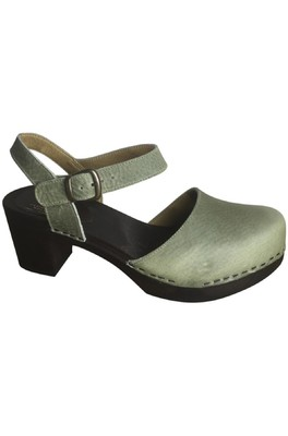 Clumpy's sandaal eva olijf