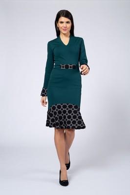 Costura jurk enni groen