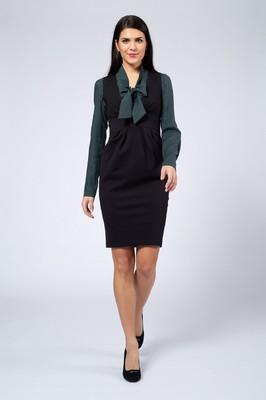 Costura jurk mira zwart