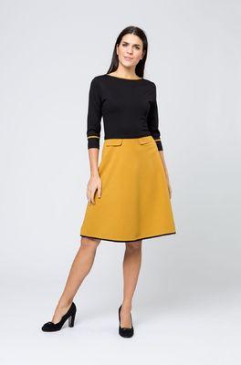Costura jurk doreen geel