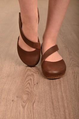 Art platte schoen