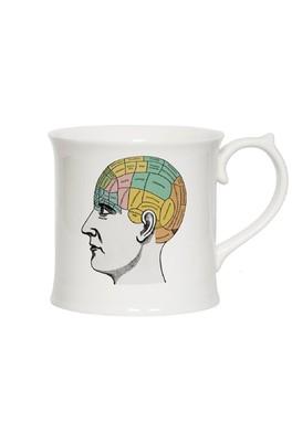 Cubic Curios Mug Phrenology