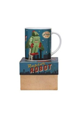 Cubic Roboutique Big Mug RaptorRobot