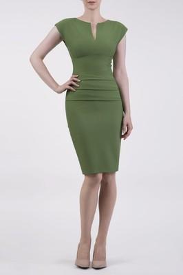 Diva Catwalk jurk daphne green