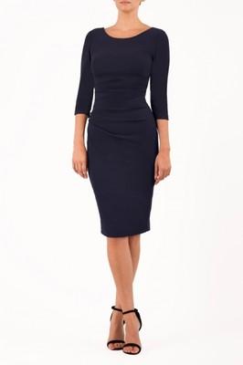 Diva Catwalk jurk polly blauw