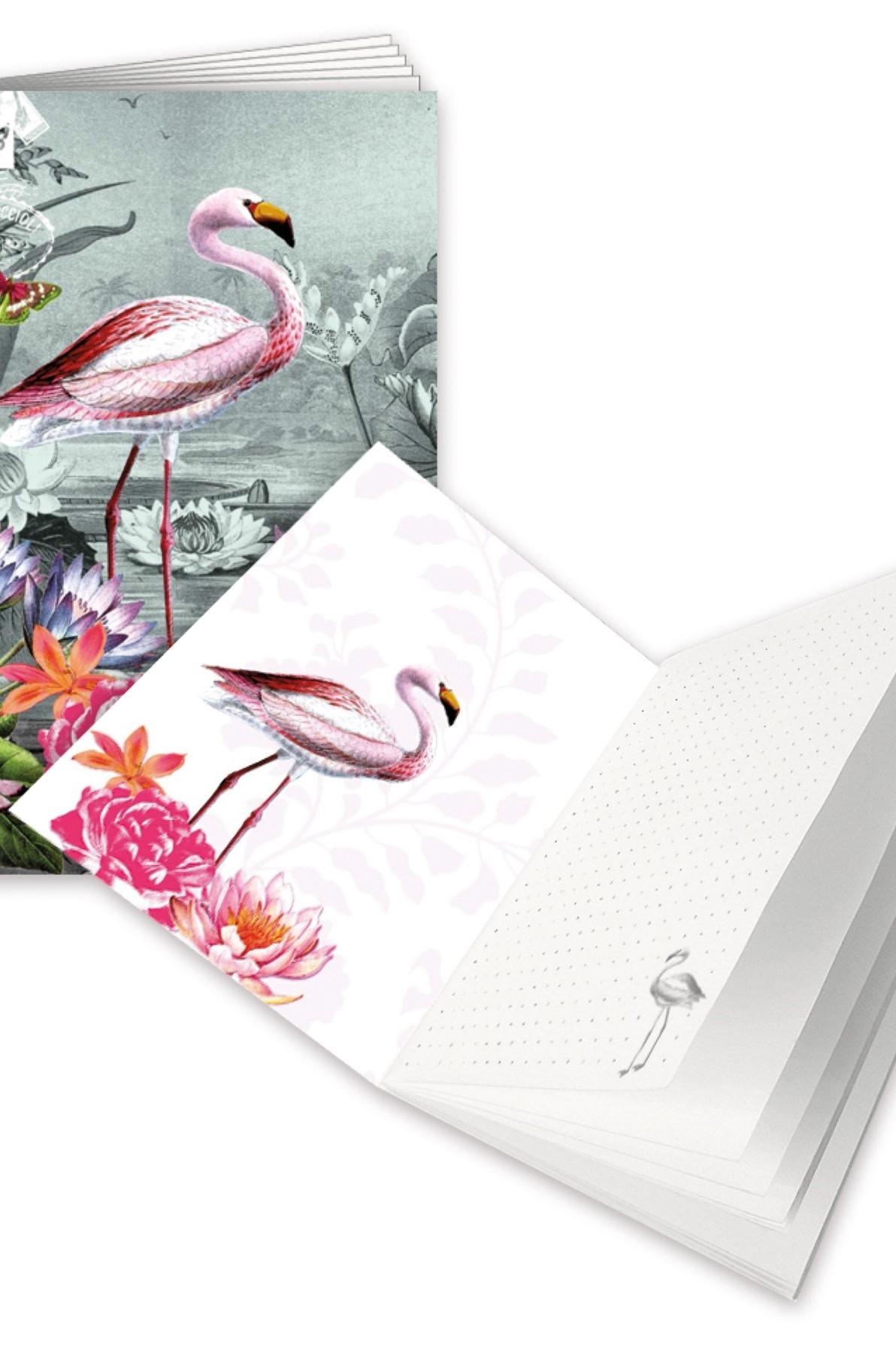 Edition Tausendschön Schrift A6 Flamingo