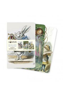 Flame Tree notebook set Alice in Wonderland
