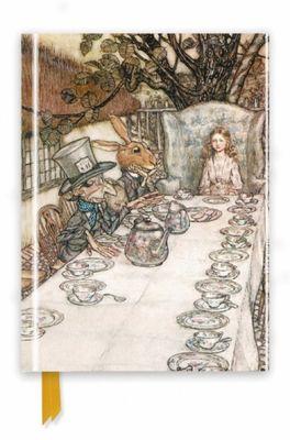 Flame Tree notitieboek Alice in Wonderland inpired