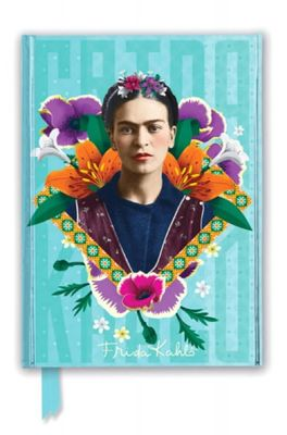 Flame Tree notitieboek Frida Kahlo Blue