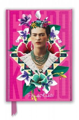 Flame Tree notitieboek Frida Kahlo Pink