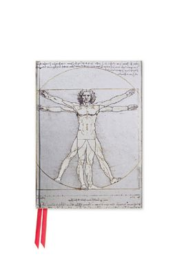 Flame Tree pocketboek eonardo da Vinci Vitruvian Man
