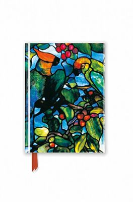 Flame Tree pocketboek Tiffany Parrots Transom