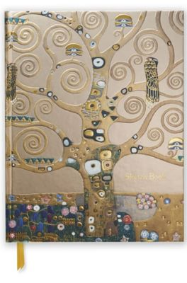 Flame Tree schetsboek Klimt Tree of Life