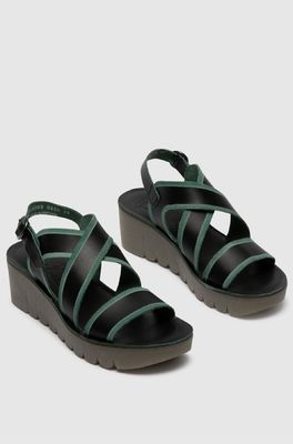 Fly sandaal YAZE605 zwart