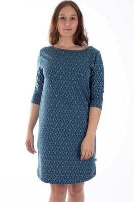 Froy & Dind jurk toto blauw