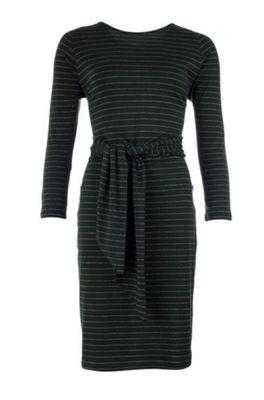 Froy & Dind jurk doris groen