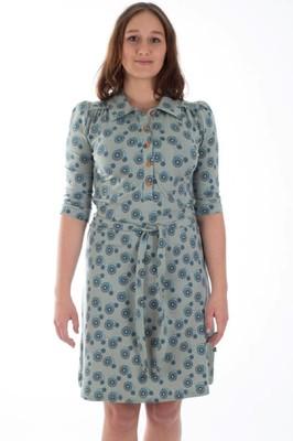 Froy & Dind jurk eloise groen