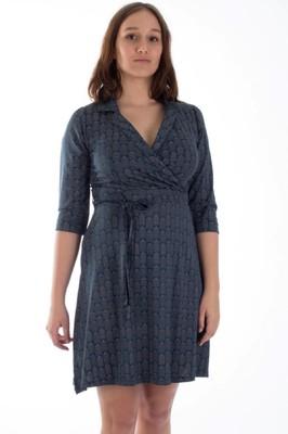 Froy & Dind jurk elena petrol