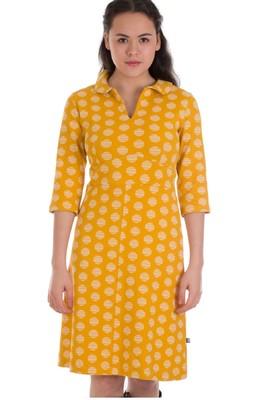 Froy & Dind jurk milou geel