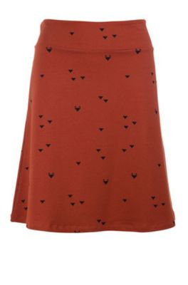 Froy & Dind rok long triangle foxes oranje