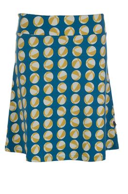 Froy & Dind rok skirt long blauw bal