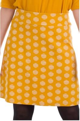 Froy & Dind rok long  geel