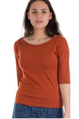 Froy & Dind shirt lina oranje