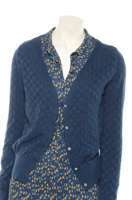 Froy & Dind vest cardigan gerdy blauw