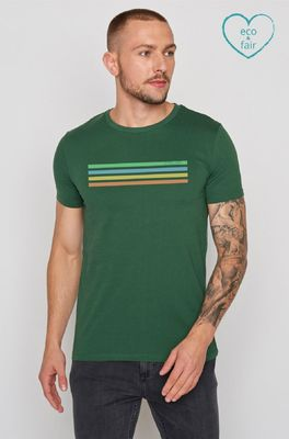Greenbomb t shirt  bike cyclist guide groen