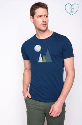 Greenbomb t shirt  blauw