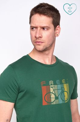 Greenbomb t shirt  groen