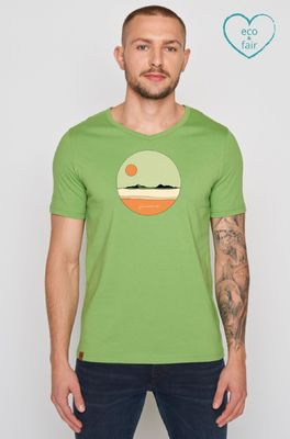Greenbomb t shirt  nature sun peak groen
