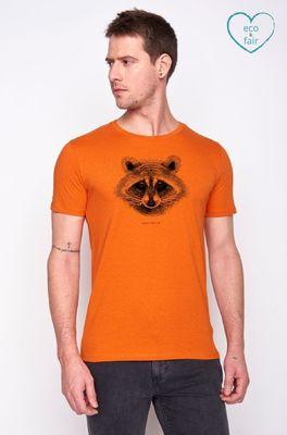 Greenbomb t shirt  oranje