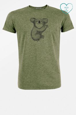 Greenbomb t shirt animal koala groen