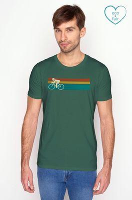 Greenbomb t shirt bike speed groen