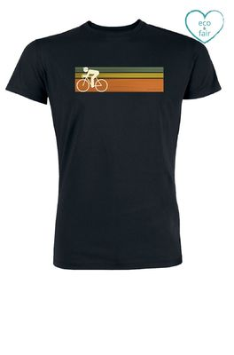 Greenbomb t shirt bike speed zwart