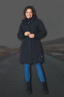Happy Rainy Days jas  zwart