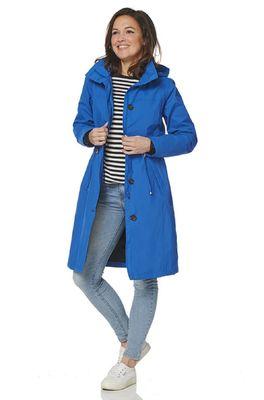 Happy Rainy Days jas balou coat blauw