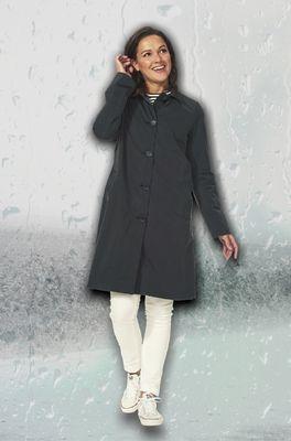 Happy Rainy Days jas beliz soft touch coat zwart