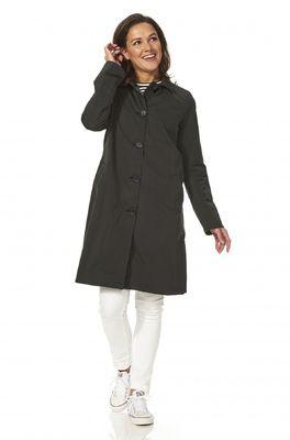 Happy Rainy Days jas belize soft toch coat zwart