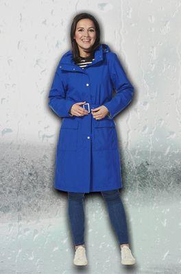 Happy Rainy Days jas bente blauw
